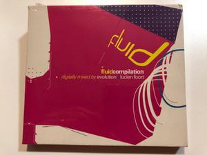 FluidCompilation / Digitally mixed by Evolution + Lucien Foort / Fluid Recordings UK 2x Audio CD / FLR 033
