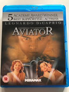 The Aviator 2004 Blu-ray Disc / Directed by Martin Scorsese / Starring: Leonardo DiCaprio, Cate Blanchett, Kate Beckinsale, John C. Reilly / Warner Bros. Pictures / with English HOH subtitles (5055201818799)