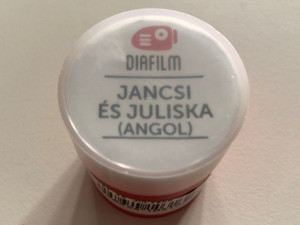 Jancsi és Julisa (Angol) Diafilm Jack and Jill slide film / Rajzolta - Drawings by Macskássy Gyula, Dargay Attila / Written by the Grimm Brothers (5998644103162)