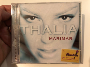 Thalia – Marimar - Amor A La Mexicana / EMI Music (Hungary) Audio CD 1999 / 0724352321223
