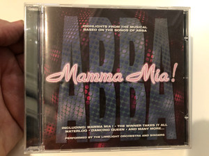 ABBA - Mamma Mia! / Highlights From The Musical Based On The Songs Of Abba / Including: Mamma Mia!, The Winner Takes It All, Waterloo, Dancing Queen, And Many More... / S.P. Series Audio CD 1999 / SP014-2