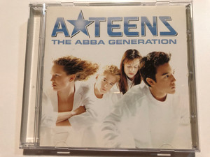 A*Teens – The ABBA Generation / Stockholm Records Audio CD 1999 / 547 666-2