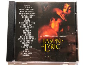 Jason's Lyric - The Original Motion Picture Soundtrack / Featuring: LL Cool J, Tony Toni Tone', K-Ci Of Jodeci, Brian McKnight, The Whitehead Brothers, DRS, Ahmad, Mint Condition, Buddy Guy, Oleta Adams / Mercury Audio CD 1994 / 522 915-2
