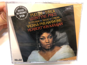 Puccini: Tosca / Leontyne Price / Di Stefano, Taddei, Corena / Vienna Philharmonic, Herbert von Karajan / The Originals / Decca 2x Audio CD 2006 / 475 7522