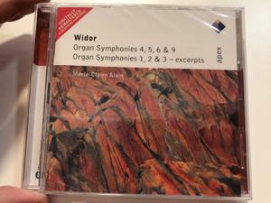 Widor - Organ Symphonies 4, 5, 6 & 9, Organ Symphonies 1, 2 & 3 - Excerpts / Marie-Claire Alain / Apex 2x Audio CD 2005 / 2564 62297-2