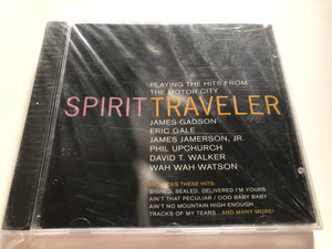 Spirit Traveler – Playing The Hits From The Motor City / James Gadson, Eric Gale, James Jamerson Jr., Phil Upchurch, David T. Walker, Wah Wah Watson / Includes These Hits: Signed, Sealed / JVC Audio CD 1993 / JVC-2029-2