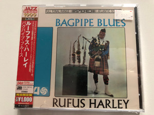 Rufus Harley - Bagpipe Blues / Atlantic Recording Audio CD / Recorded in 1966 / Kerry Dancers, More, Chim Chim Cheree / Japanese CD Release (081227957452)
