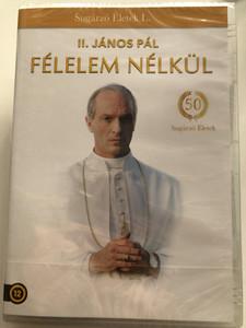 Have no fear - The life of Pope John Paul II. DVD 2005 II. János Pál - félelem nélkül / Directed by Jeff Bleckner / Starring: Thomas Kretschmann / Etalon film - Sugárzó életek (5999886089320)