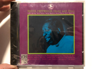 Eddie Jefferson – Body And Soul / James Moody, Dave Burns, Barry Harris, Steve Davis, Bill English / Original Jazz Classics Audio CD 1989 Stereo / OJCCD-396-2