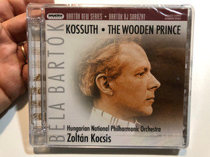 Béla Bartók – Kossuth, The Wooden Prince / Hungarian National Philharmonic Orchestra , Zoltán Kocsis / Bartok New Series / Hungaroton Classic Audio CD 2006 Stereo / HSACD 32502