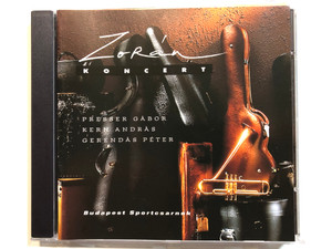 Zorán – Koncert / Presser Gabor, Kern Andras, Gerendas Peter / Budapest Sportcsarnok / 3T Audio CD 1996 / 533 693-2