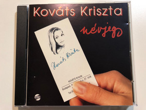 Kováts Kriszta – Névjegy / Gong Audio CD 1993 / HCD 37726