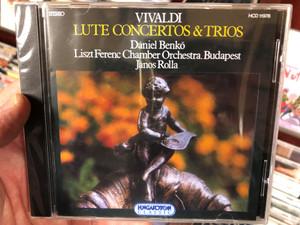 Vivaldi - Lute Concertos & Trios / Daniel Benko, Liszt Ferenc Chamber Orchestra, Budapest, Janos Rolla / Hungaroton Audio CD 2015 Stereo / HCD 11978-2
