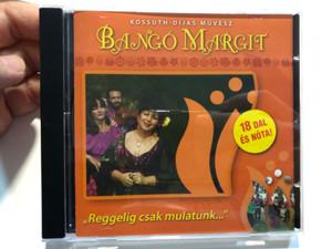 Bangó Margit Kossuth-Díjas Művész - Reggelig csak mulatunk / 18 dal és nóta / Hungarian Gypsy Song Singer / Europa Records 2007 / ERCD701 (5999883108604)
