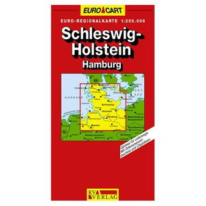 Hamburg, Schleswig- Holstein 1 : 250 000. RV Laenderkarten/ Regionalkarten 01.