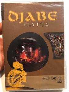 Djabe- Flying DVD Live In Concert (Update Tour 2001) / Égerházi Attila guitar, Barabás Tamás bass guitar, Sipos András vocal... / Gramy Records (5998176103562)