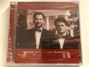 D'Hervelois, Bach, Fauré, Seiber, Saglie, Piazzolla - Major István (violoncello), Saša Marković (accordion) / Magyar Líra Bt. Audio CD 2002