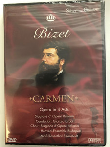 Georges Bizet DVD 1998 Carmen / Directed by Giorgio Croci / Opera in 4 acts / Vocals: Malgorzata Walewska, Mario Malagnini, Boaz Senator / Wolfgang Werner, Silverline Classics (4028462800187)