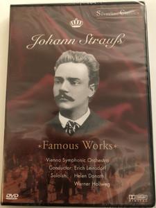 Johann Strauss DVD 2003 Famous Works / Vienna Symphonic Orchestra / Conductor: Erich Leinsdorf / Soloists: Helen Donath, Werner Hollweg / Silverline Classisc (4028462800033)