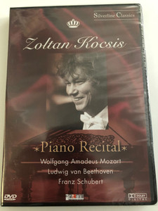 Zoltán Kocsis DVD 2003 Piano Recital / Wolfgang Amadeus Mozart, Ludwig van Beethoven, Franz Schubert / Silverline Classics serial / Recorded at Teatro Sociale, Bellinzona, Switzerland, 1998 / Cascade Medien (4028462800132)