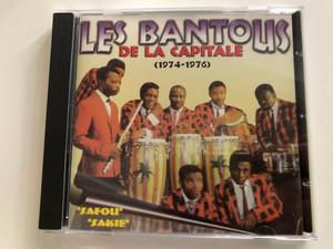 Les Bantous De La Capitale – (1974-1976) / ''Safou'', ''Sakie'' / African Audio CD / CD 36584