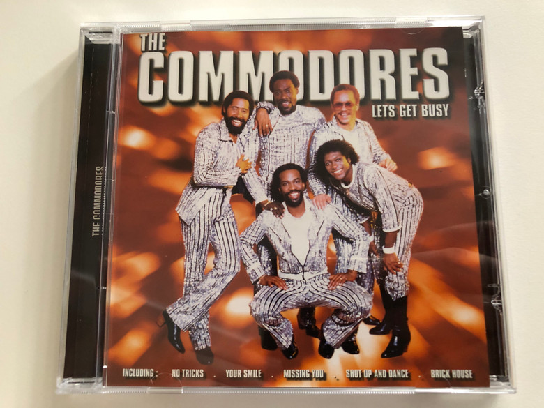 The Commodores - Lets Get Busy / Including: No Tricks, Your Smile, Missing You, Shut Up And Dance, Brick House / Cedar Audio CD / BC 046