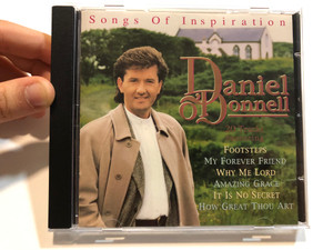 Songs Of Inspiration - Daniel O'Donnell / 20 Tracks Featuring: Footsteps, My Forever Friend, Why Me Lord, Amazing Grace, It Is No Secret, How Great Thou Art / Ritz Records Audio CD 1996 / RITZ BCD 709