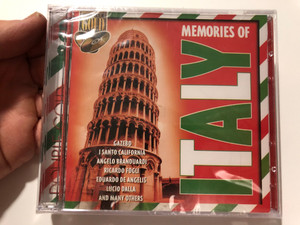 Memories Of Italy / Gazebo, I Santo California, Angelo Branduardi, Ricardo Fogli, Eduardo De Angelis, Lucio Dalla, And Many Others / Double Gold 2x Audio CD / 1701322