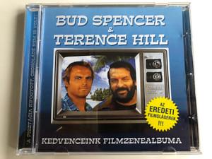 Bud Spencer & Terence Hill - Kedvenceink filmzenealbuma / Az Eredeti Filmslagerek!!! / Hargent Media Audio CD / HG 741