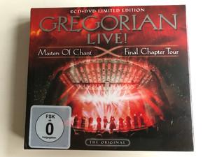 Gregorian Live! - Masters Of Chant X - Final Chapter Tour / The Original / Ear Music 2x Audio CD + DVD CD 2016 / 0211499EMU 0211499EMU
