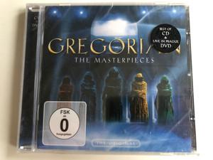 Gregorian – The Masterpieces / Best Of CD & Live In Prague DVD / Edel Records Audio CD + DVD CD 2005 / 0165792ERE
