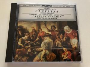 Johann Sebastian Bach – Cantatas Coffee - Peasant / Krisztina Laki, István Gáti, Attila Fülöp, Capella Savaria / Directed by Pál Németh / Hungaroton Audio CD 1983 Stereo / HCD 12462-2