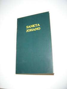 Esperanto John / The Gospel of John in Esperanto