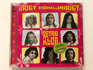 Irigy Hónaljmirigy – Retro Klub / + Ajandek DVD / CLS Records Audio CD + DVD CD / CLS SA0542