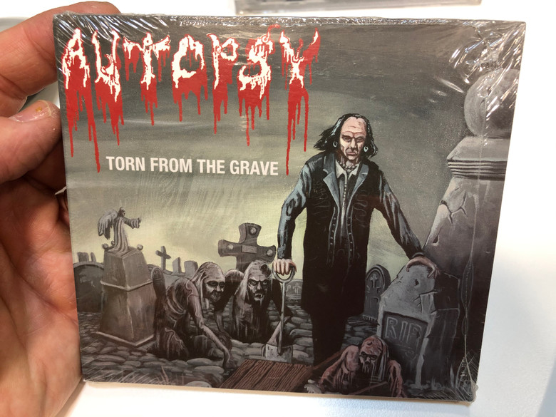 Autopsy – Torn From The Grave / Peaceville Audio CD 2001 / CDVILE 84