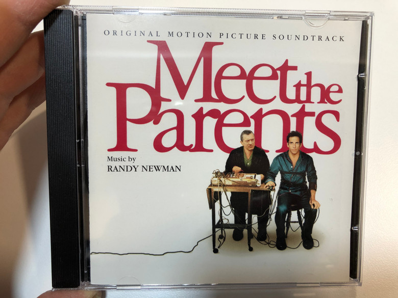 Meet The Parents (Original Motion Picture Soundtrack) / Music by Randy Newman / DreamWorks Records Audio CD 2000 / 450 286-2