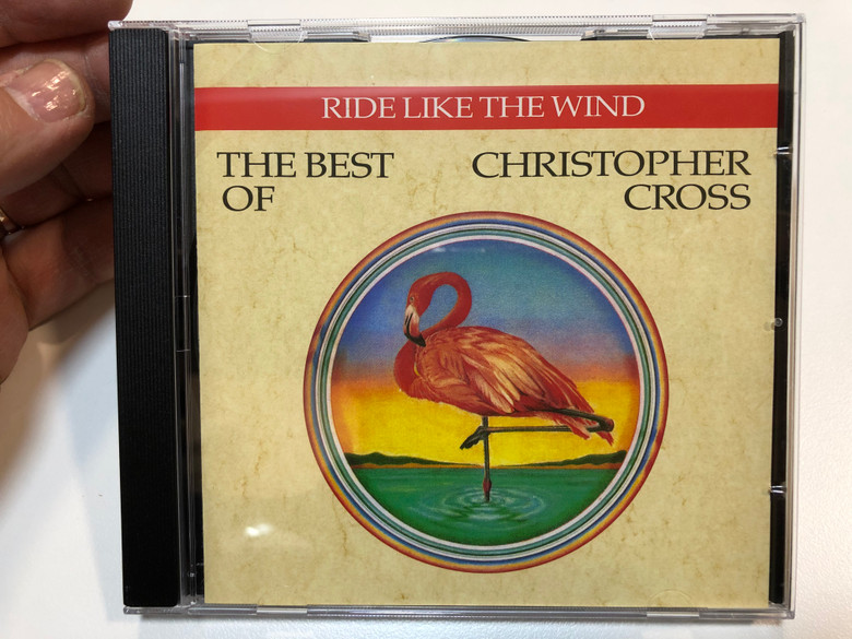 Ride Like The Wind - The Best Of Christopher Cross / Warner Bros. Records Audio CD 1992 / 9548-30656-2