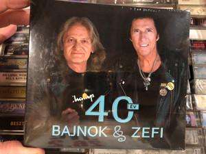40 Év - Bajnok & Zefi - Mobilmánia / Hammer Records 2x Audio CD 2021 / HMRDCD204