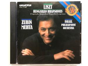 Liszt - Hungarian Rhapsodies (Ungarische Rhapsodien/Rhapsodies hongroises / Zubin Mehta, Israel Philharmonic Orchestra / Hungaroton Audio CD 1990 Stereo / HCDL 31380
