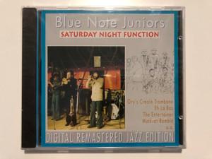 Blue Note Juniors – Saturday Night Function / Ory's Creole Trombone, Eh La Bas, The Entertainer, Muskrat Ramble, u.a. / Digital Remastered Jazz Edition / Pastels Audio CD 1995 / CD 20.1637