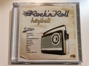Rock'n'Roll - hazibuli / 31 slager - Fats Domino, Wanda Jackson, Dion, The Swinging Blue Jeans, Louis Prima, Gene Vincent, Eddie Cochran, Little Eva, Illes, Omega, Hungaria, ...es meg, meg, meg... / EMI Audio CD 2004 / 7243 875545 28