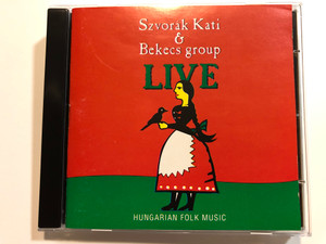 Szvorak Kati & Bekecs group - Live / Hungarian Folk Music / REP Audio CD 1993 / 003
