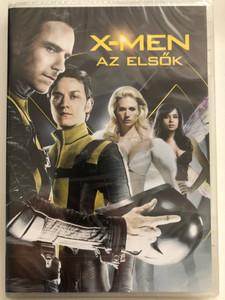 X-Men First Class DVD 2011 X-Men az elsők / Directed by Matthew Vaughn / Starring: James McAvoy, Michael Fassbender, Rose Byrne, January Jones (5996255736267)