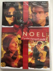Noel DVD 2004 A szerelem a legnagyobb ajándék / Directed by Chazz Palminteri / Starring: Penelope Cruz, Susan Sarandon, Paul Walker, Robin Williams (5999549904731)