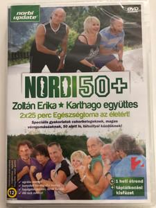 Norbi 50 + DVD Zoltán Erika - Karthago együttes / 2x25 perc egészségtorna az életért / Hungarian fitness & healthy living video / Norbi update (5999513750159)