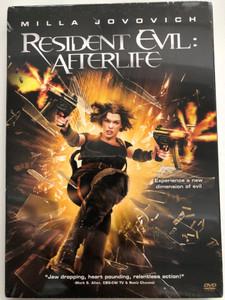 Resident Evil: Afterlife DVD 2010 / Directed by Paul W.S. Anderson / Starring: Milla Jovovich, Ali Larter, Kim Coates, Shawn Roberts, Sergio Peris-Mencheta, Spencer Locke (5996255735161)