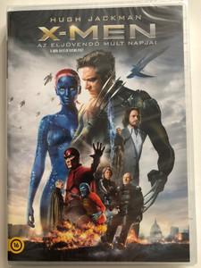X-Men Days of Future Past DVD 2014 X-Men az eljövendő múlt napjai / Directed by Bryan Singer / Starring: Patrick Stewart, Ian McKellen, Hugh Jackman, Michael Fassbender, James McAvoy, Jennifer Lawrence (5996255739114)