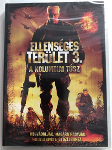 Behind Enemy Lines: Colombia DVD 2008 Ellenséges terület - A kolumbiai túsz / Directed by Tim Matheson / Starring: Joe Manganiello, Mr. Kennedy, Yancey Arias, Channon Roe (5996255729160)