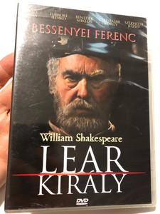 William Shakespeare - Lear Király DVD / Directed by Vámos László / Starring: Bessenyei Ferenc, Gáti Oszkár, Benedek Miklós, Szabó Gyula, Cserhalmi György / Hungarian drama play / ER6057 (5990502068811)