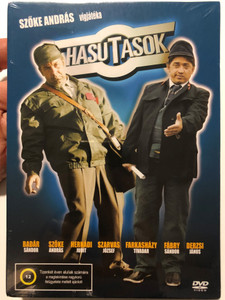 Hasutasok DVD 2006 / Directed by Szőke András / Starring: Badár Sándor, Hernádi Judit, Farkasházy Tivadar, Fábry Sándor / Hungarian Comedy film (5999545585897)